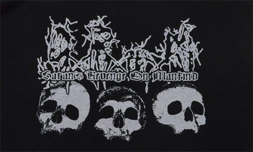 Satan's Revenge On Mankind - Skulls Patch